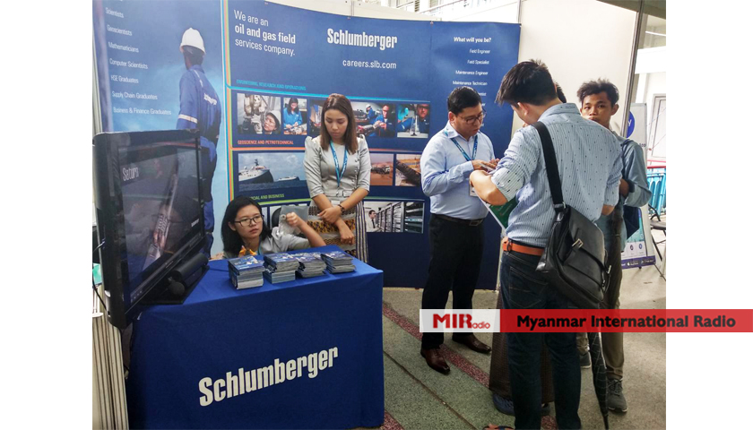 The three student's unions organize the career expo to open